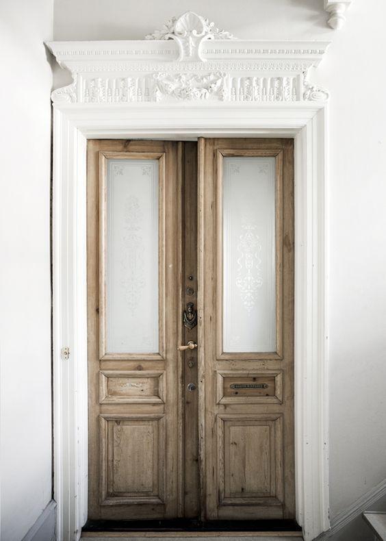 Braune Tür / Brown Door