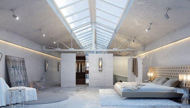 Chambre à coucher moderne  50 idées design Modern room, Room