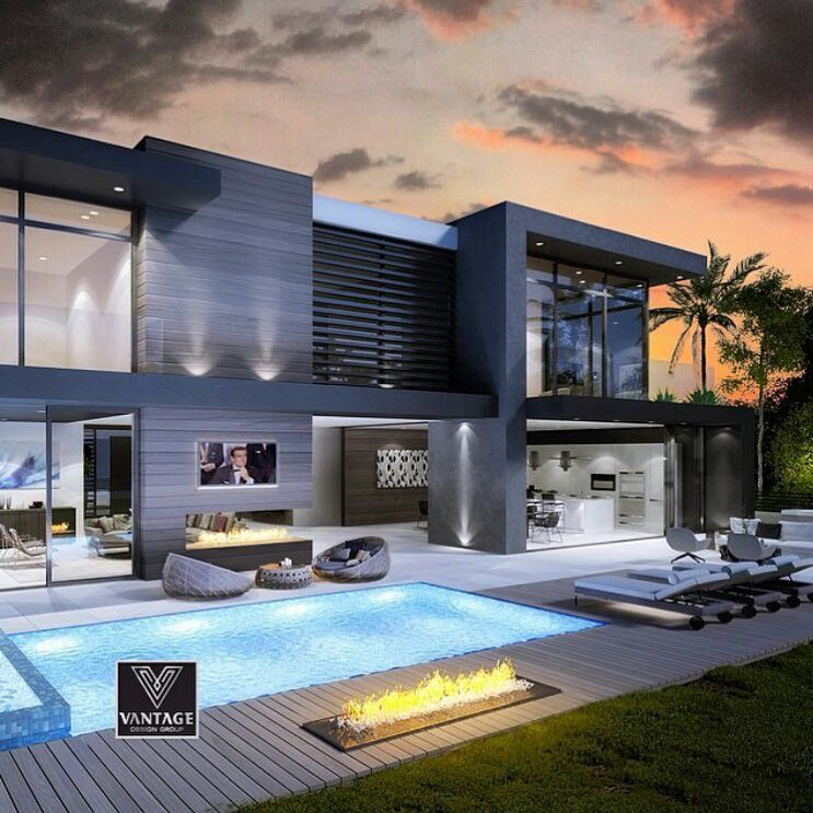 Quite Time House Architecture Design Modern Mansion Modern House Exterior