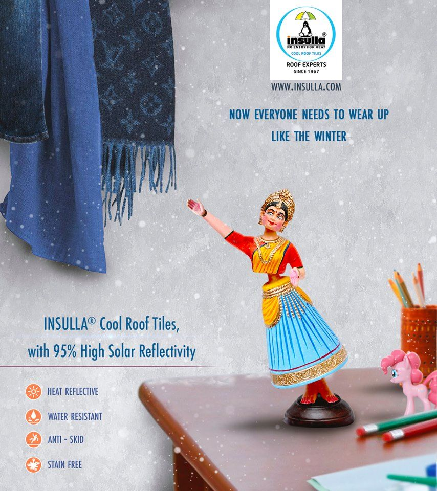 Be Prepared With Your Winter Wearing Before The Installations Of Insulla Cool Roof Tiles Because Our Premium Insulation Tile Cool Roof Cool Stuff Roof Tiles