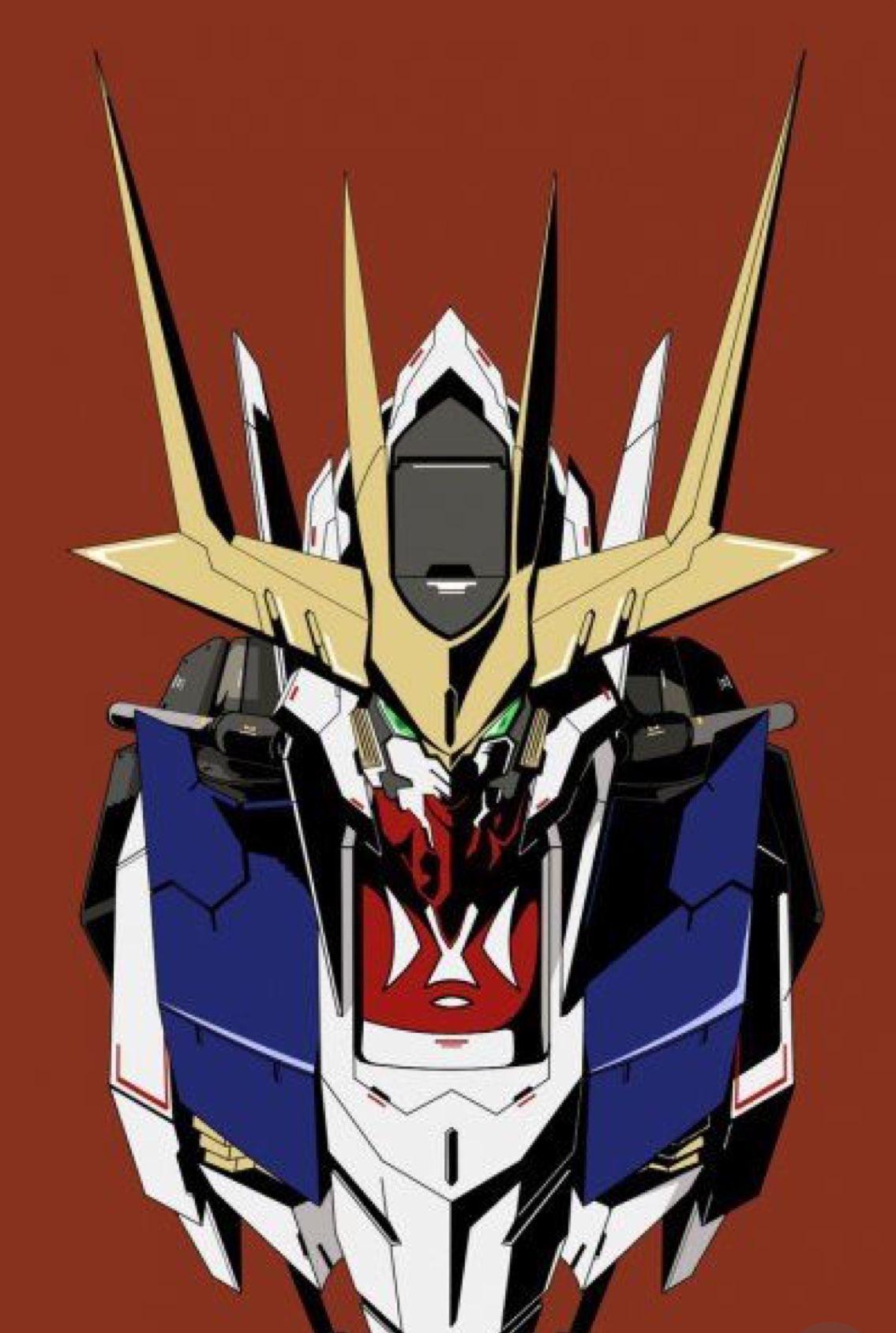 Pin By Julio Cesar Ceron Trejo On ロボット Gundam Iron Blooded Orphans Gundam Wallpapers Gundam Art