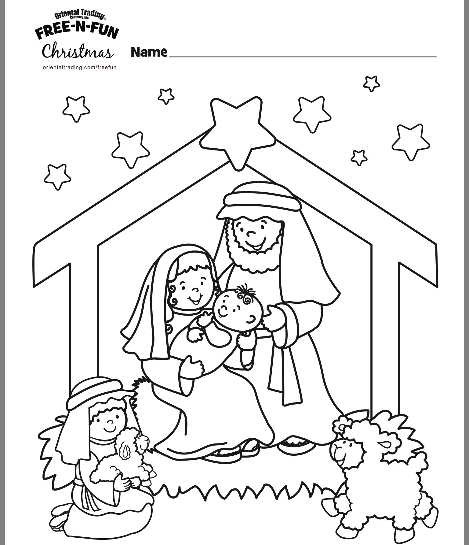 Pin by Teodora on Kids coloring pages Christmas sunday