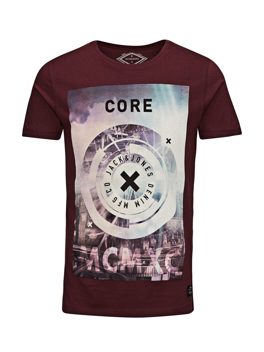 b30c18d252052 GRAPHIC T-SHIRT - Jack & Jones | Shirt Ideas | T shirt, Jack jones ...
