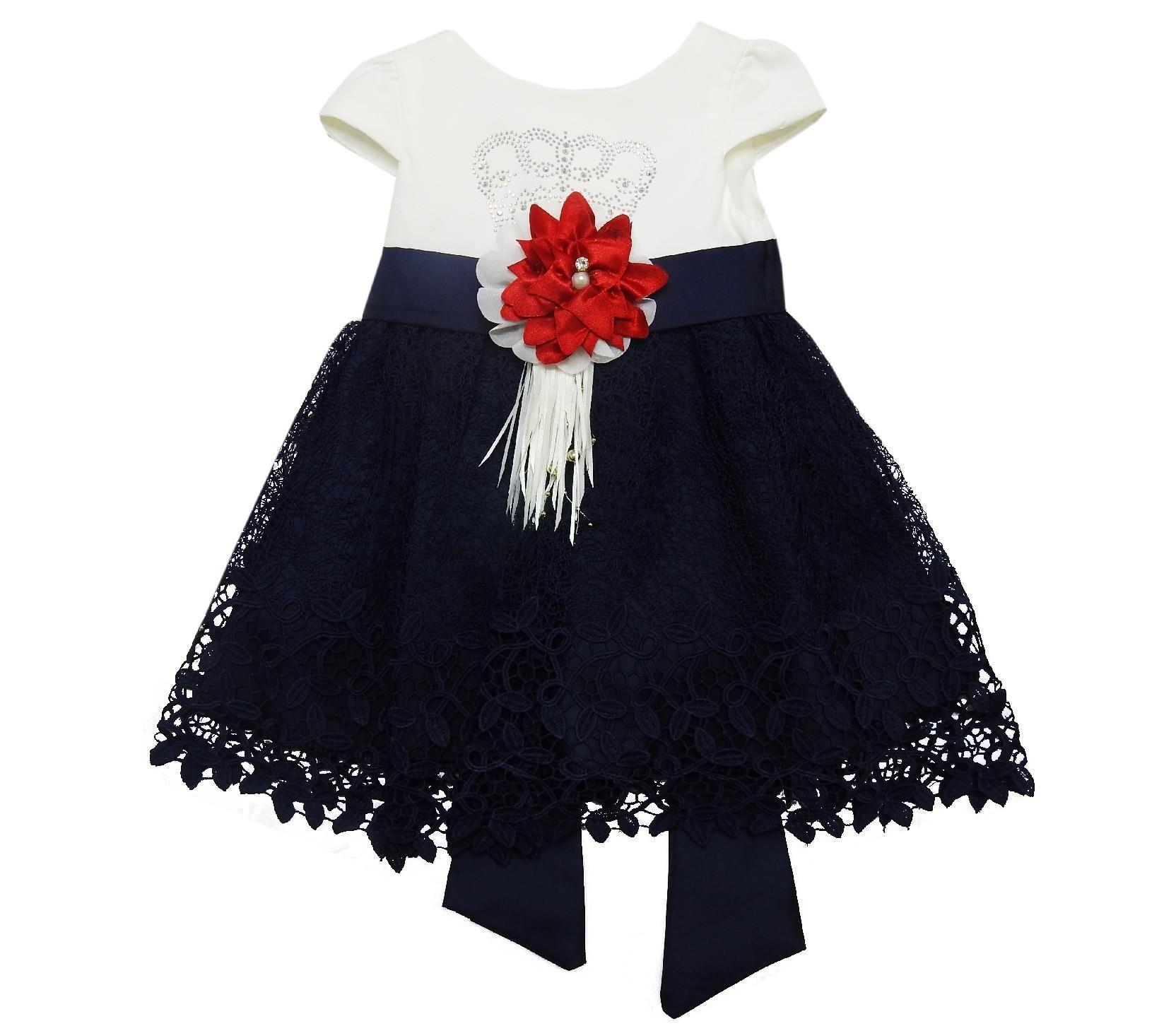125 Wholesale Lace Fabric Design Flower Applique Dress For Girl 1 2 3 4 Age Applique Dress Wholesale Kids Clothing Girls Dresses