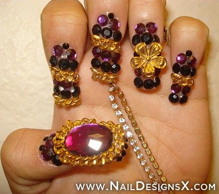 Weird Nail Design Nail Designs Nail Art Bizzare Nails