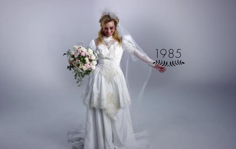 Vestidos Años 3 Minutos Bodas ¡100 En Novia Los De Evolución SwZRxqP1E