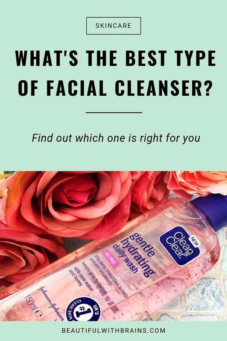 What's Your Favourite Type Of Facial Cleanser? -   17 skin care Masks facials ideas