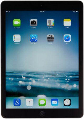 Apple Ipad Air Md785ll A 16gb Wi Fi Black With Space Gray Rating List Ipad Air Ipad Ipad Air 2