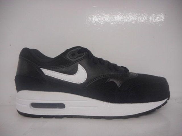 Nike Air Max 1 Essential Women'S Running Shoes Black 599820