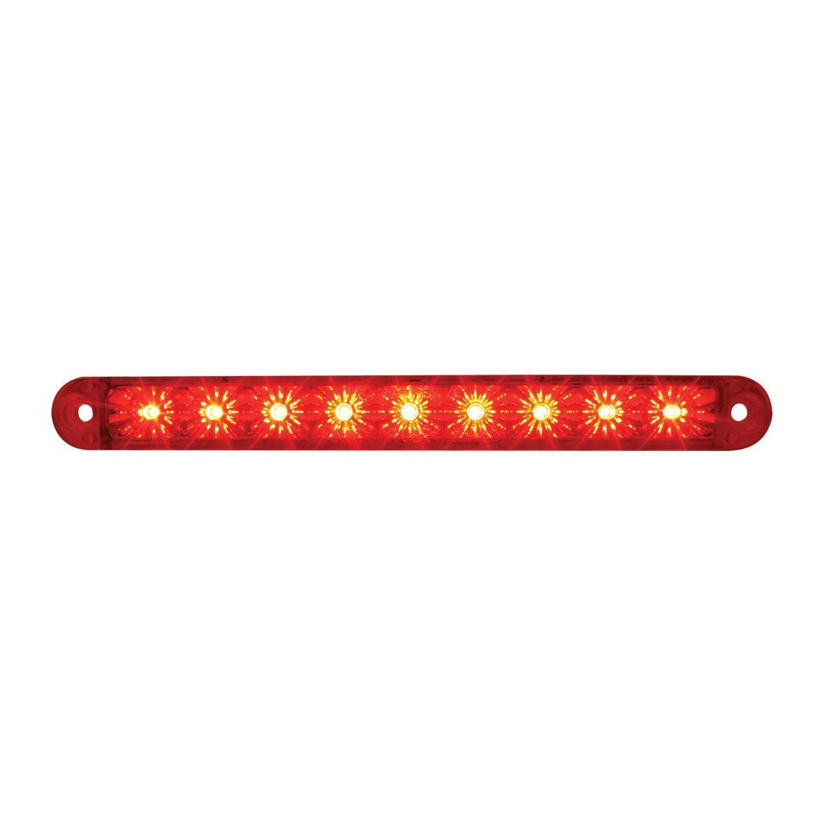 "Red/Red 6.5"" Dual Function Led Light Bar Turn / Marker & Clearance"