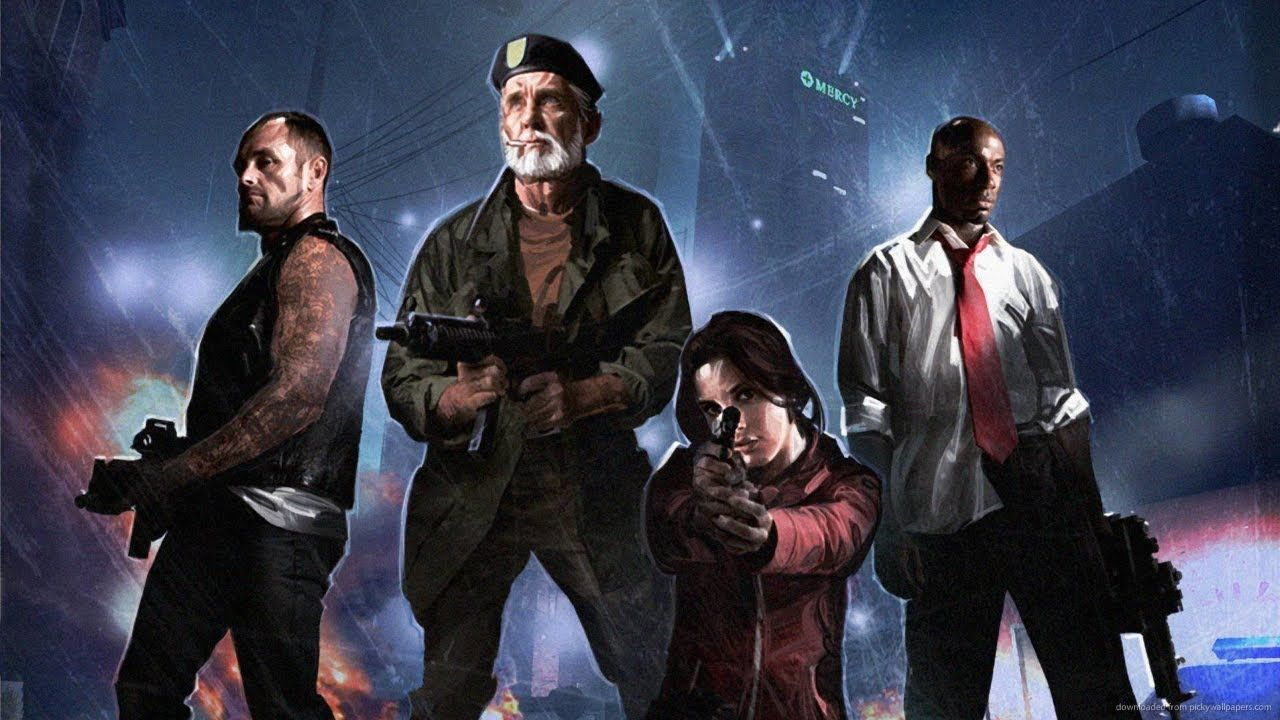 Left 4 Dead 2 Gameplay On The Pc With Zombies Zombies More Zombies Left 4 Dead Character Wallpaper View Wallpaper