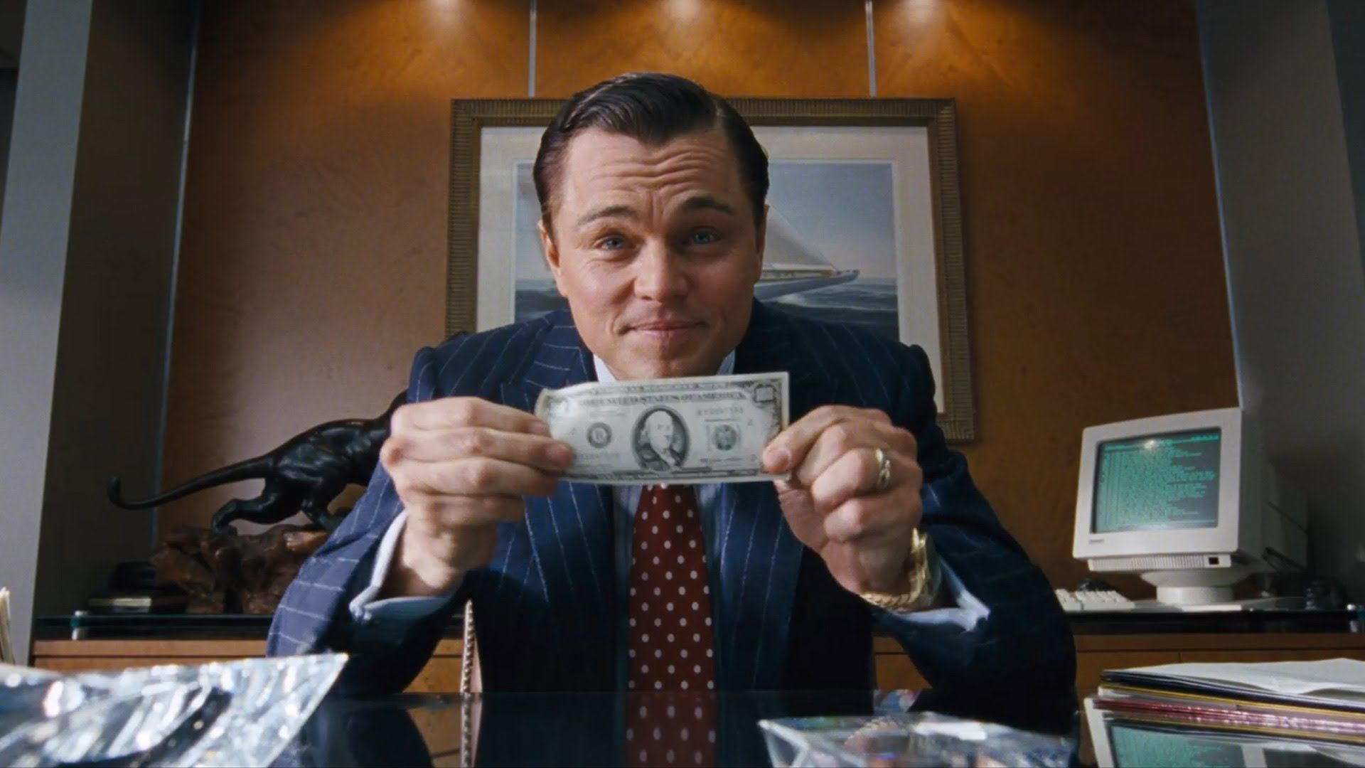 The Wolf Of Wall Street Hd Desktop Wallpapers 7wallpapers Net Wolf Of Wall Street Wall Street Street Quotes