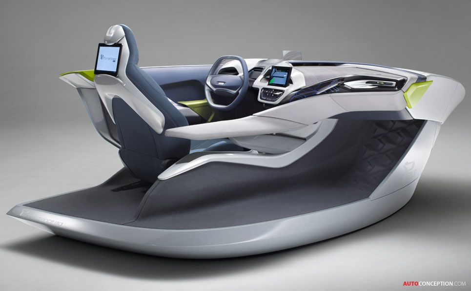 Car Interior Design Faurecia Performance 20 Concept