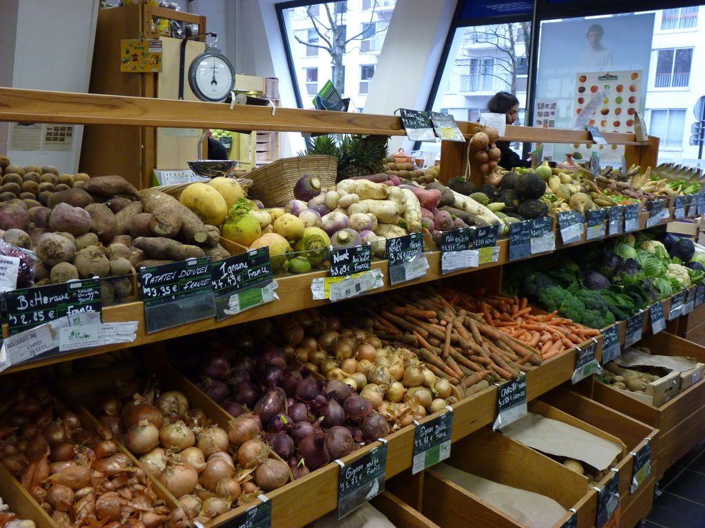 La Retour à la TerreA beautiful organic store (the