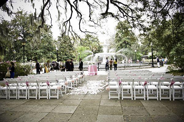 Forsyth Park Wedding Savannah Ga