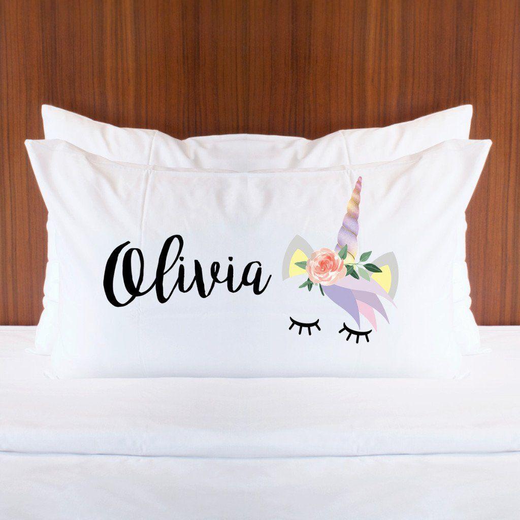 Personalized Unicorn Pillowcase Unicorns Washing dryer and Dryer