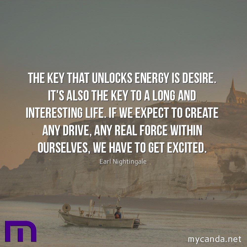 The Key That Unlocks Energy