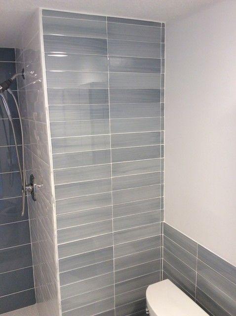 Foggy Morning Glass Subway Wall Tile 3 X 12 In Bathroom