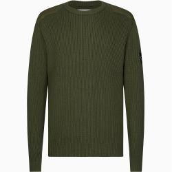 Photo of Calvin Klein Pullover aus Gekämmter Baumwolle mit Ärmel-Logo Xxl Calvin Klein