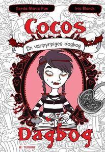 cocos dagbog - en vampyrpiges dagbog | book logo, book of