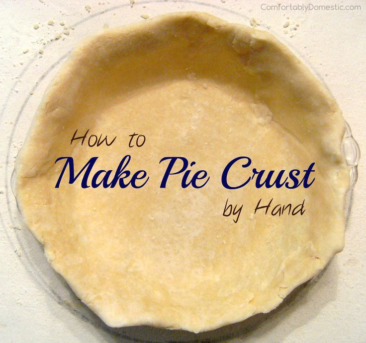 Flawless Pie Dough is an easy way to Make Pie Crust by Hand | http://ComfortablyDomestic.com