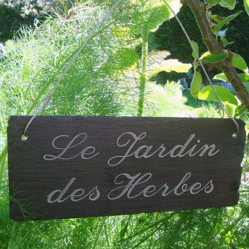 French Script Herb Garden Sign Garden Signs Welcome To The Party Potager Garden