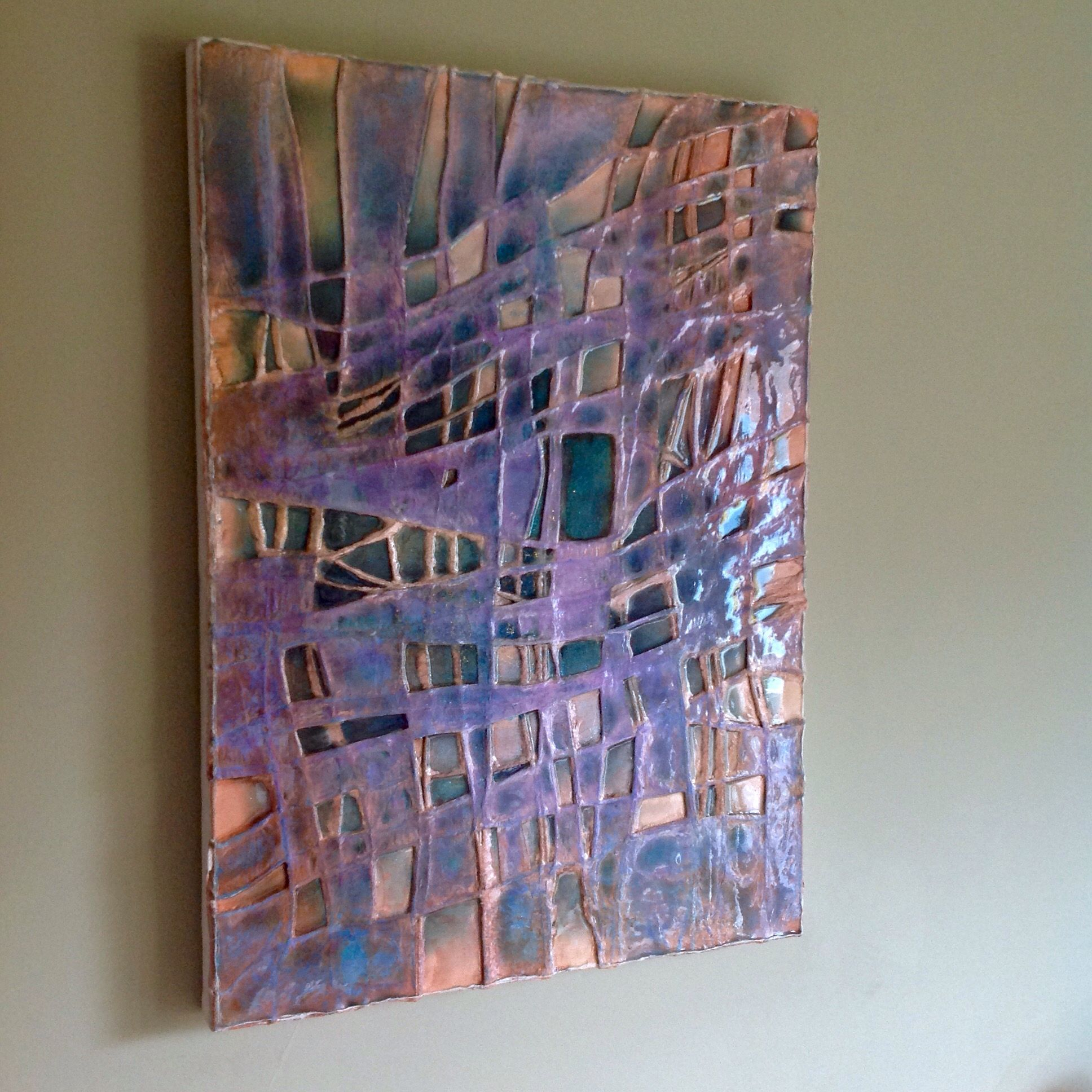 Pinturas Abstractas Con Relieve Quotmay Windows Quot Abstract Art By Paul Mason Monica