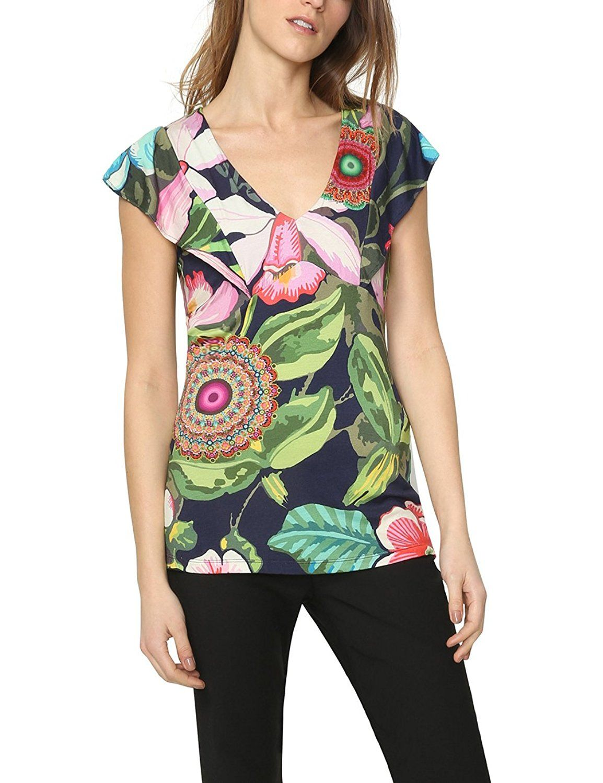 Desigual Womens Blouse Cotton Sizes XS-XL
