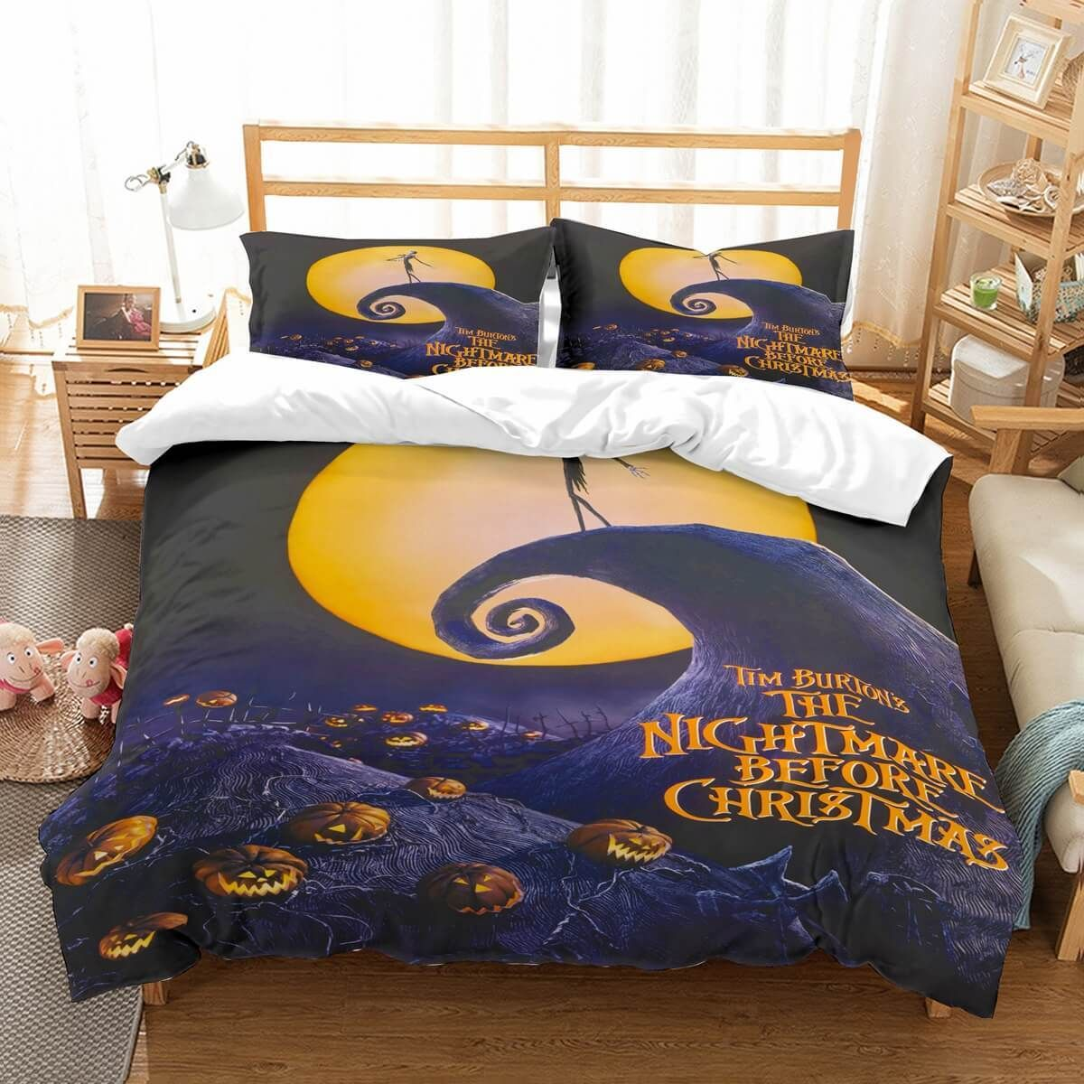 3D Customize The Nightmare Before Christmas Bedding Set ...