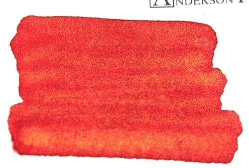 Diamine Shimmertastic Red Lustre Sample (3 ml)