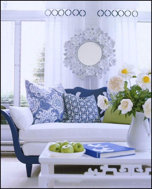 Blue in Rooms