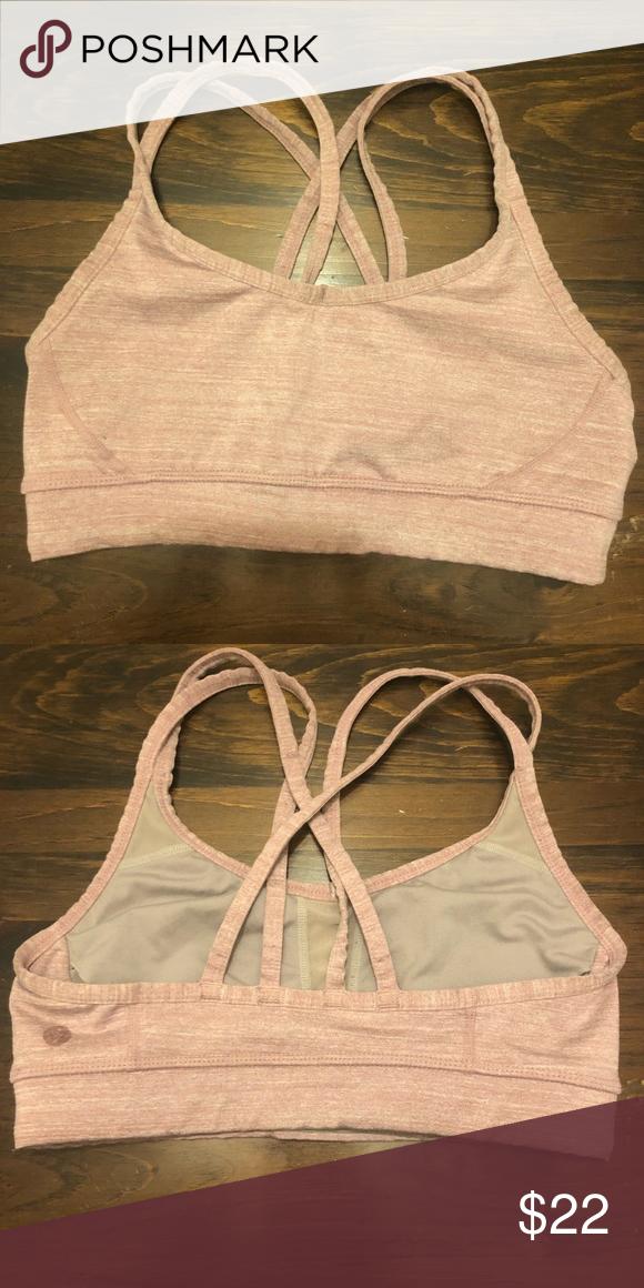 1634e9eee3166 Manduka Yoga Crossed Back Practice Bra Manduka Yoga Practice Bra -pink  -soft -supportive -good condition -XS Beyond Yoga Intimates   Sleepwear Bras