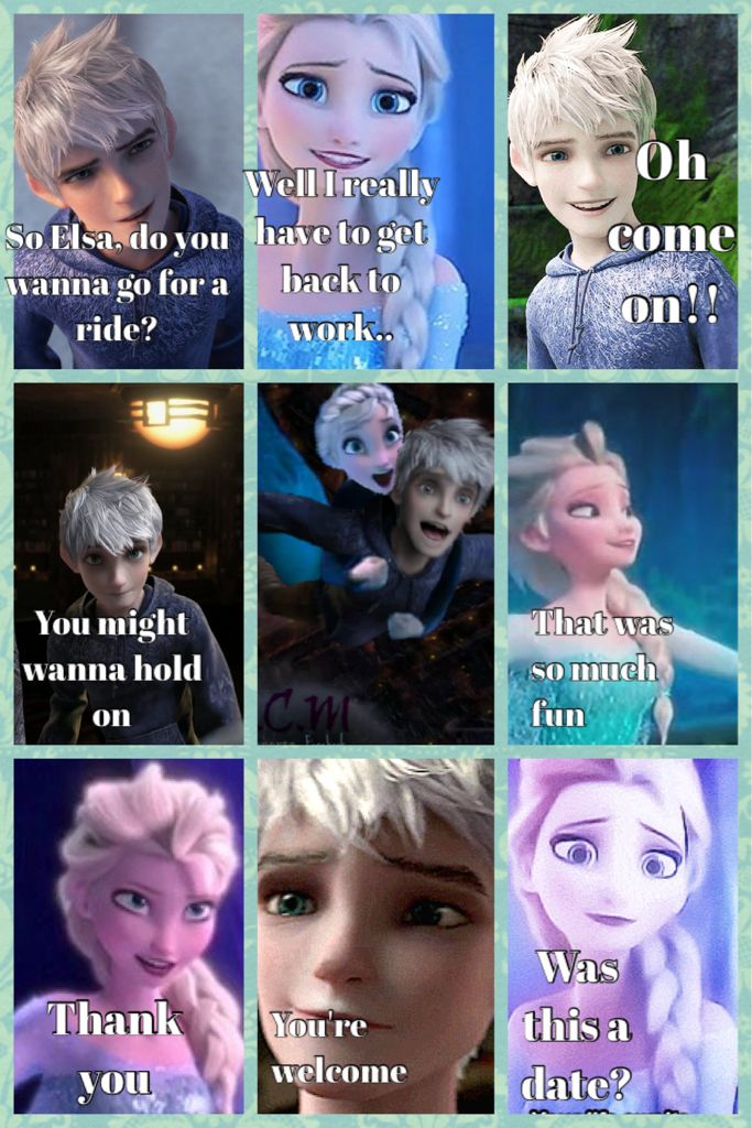 Story Part 7 I M Not For Shipping Elsa And Jack Frost But This Story Line Is Good Disney Princess Funny Jelsa Jack Frost