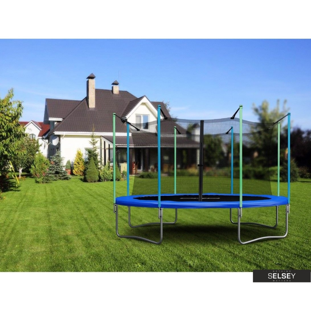 Trampolina 404 Cm 13ft Z Siatka Wewnetrzna Selsey Outdoor Structures Gazebo Outdoor