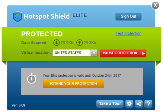 new crack for hotspot shield