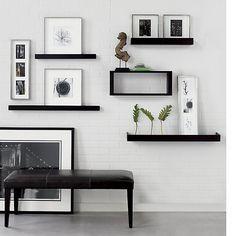 Ikea Mosslanda Google Search Dining Room Floating Shelves