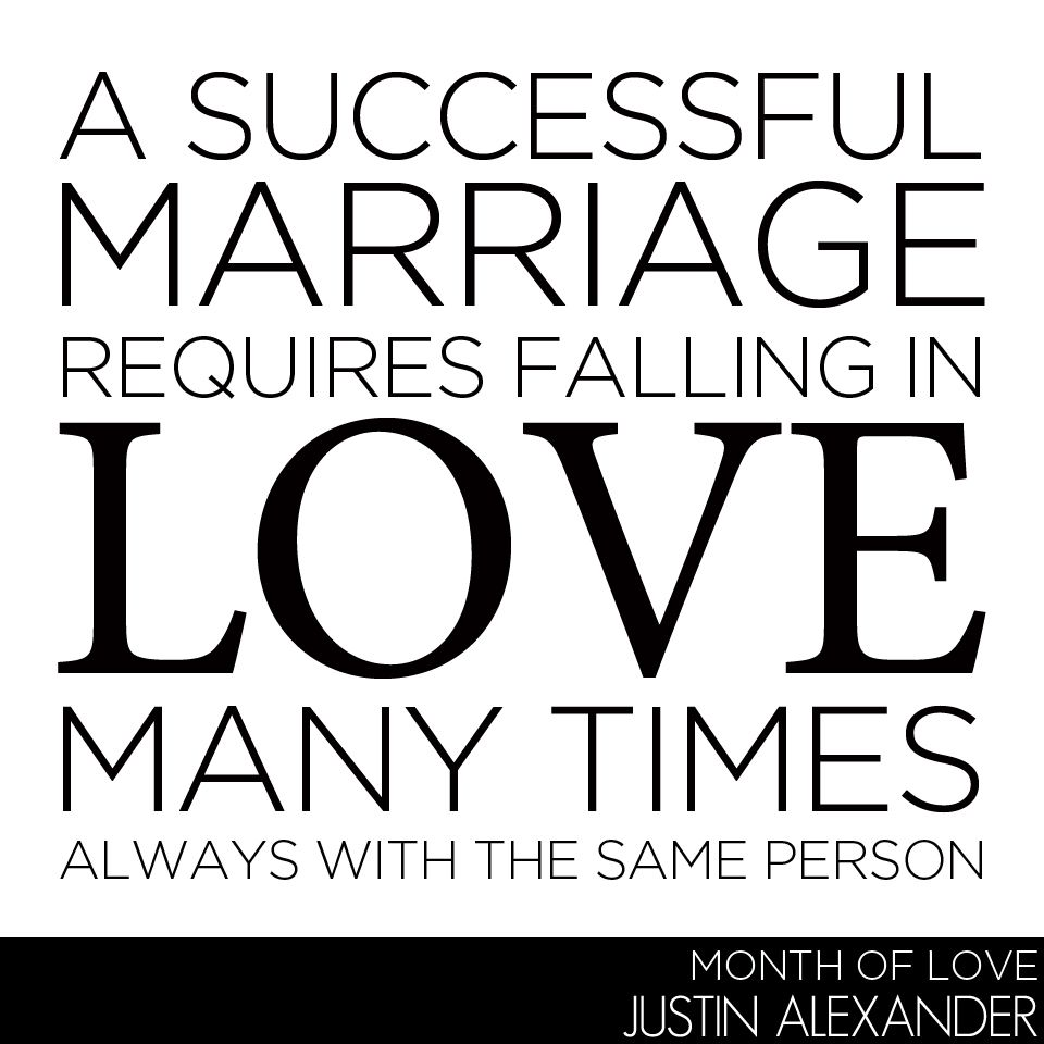 Best Time To Get Married: A Successful Marriage Requires Falling In Love Many Times