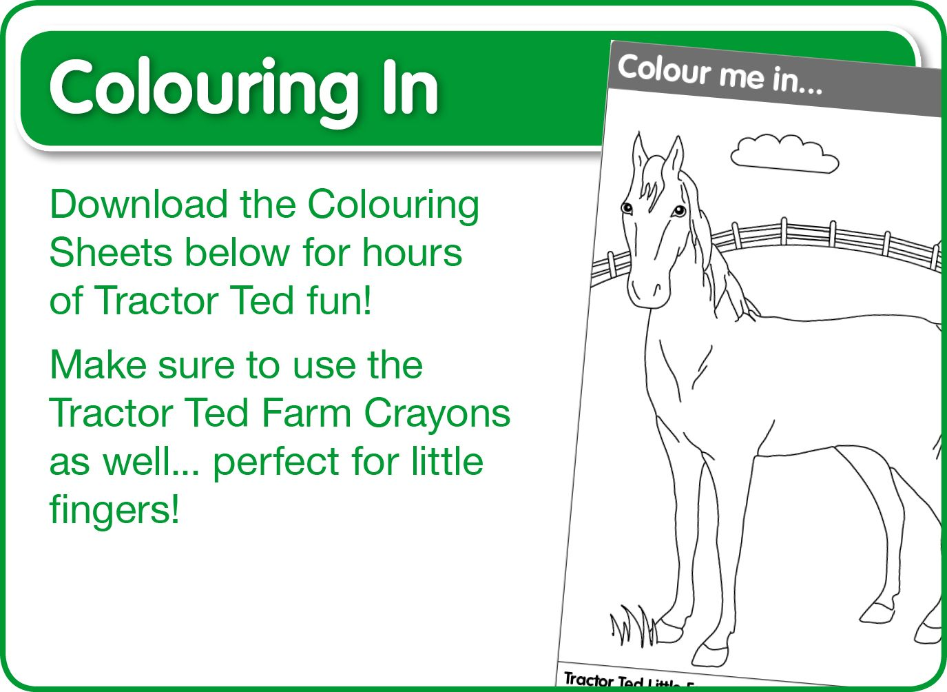 Print and Do - lots of Tractor Ted colouring in printables - plenty ...