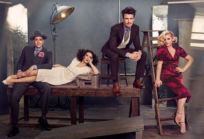 @ruvenafanafor photographs the #Broadway cast of She Loves Me for #VanityFair by sarahlaird_goodco