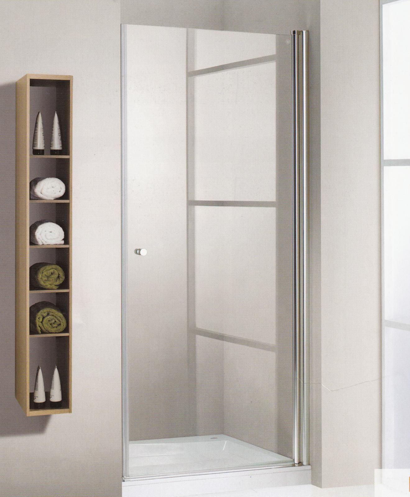 Fabricaci n a medida mampara frontal ducha 1 puerta for Medidas puertas interior