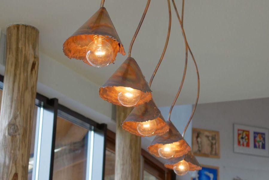 lighting designer copper light pin by rustic beautiful dutch willem simonis
