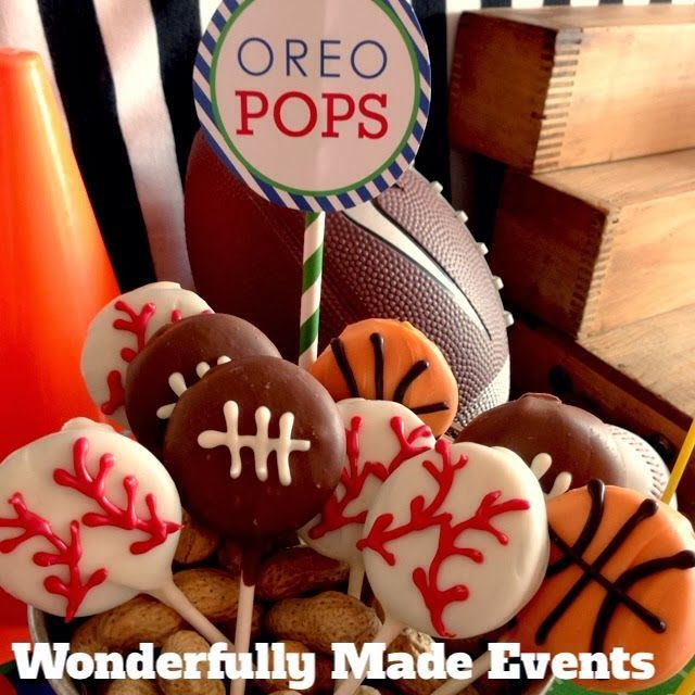 Lots of awesome sports theme birthday party ideas Holidays