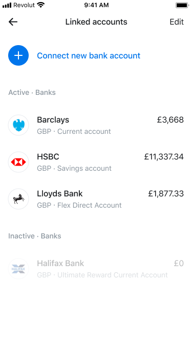 Revolut Uses Open Banking To Let You Aggregate Other Bank