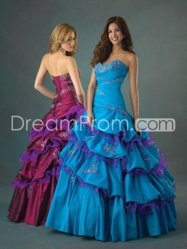 Claret Sweet 16 Dresses