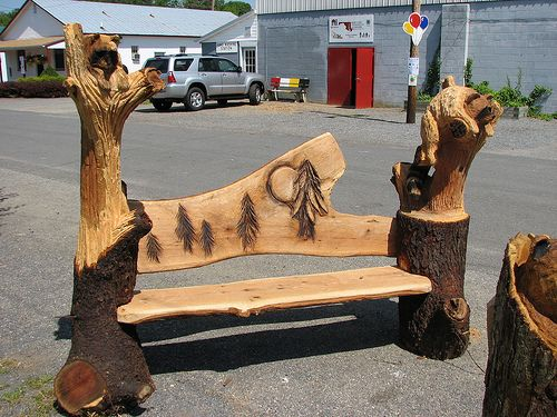 Chainsaw Carved Wood Benches Wood Carving 02 Chainsaw Carving Chainsaw Wood Carving Carved Bench