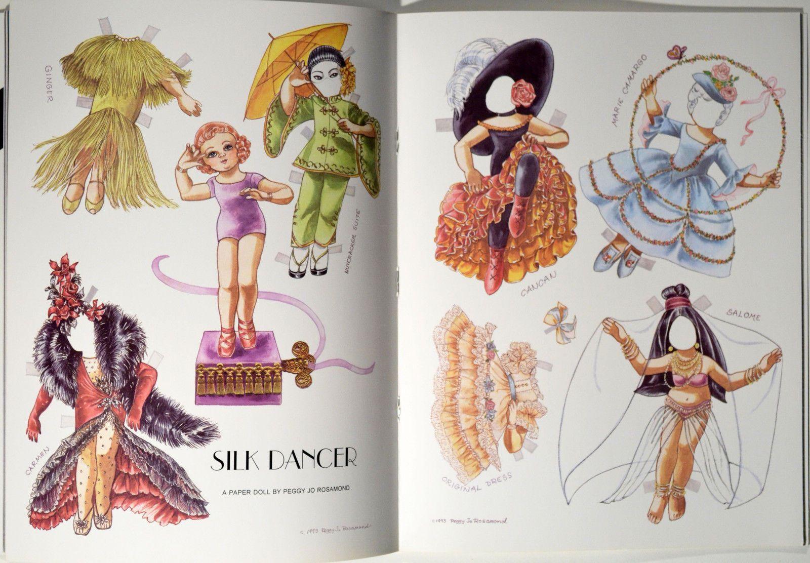 Doll News Magazine UFDC Back Issue Winter 1994 w Silk Dancer Paper Doll | eBay