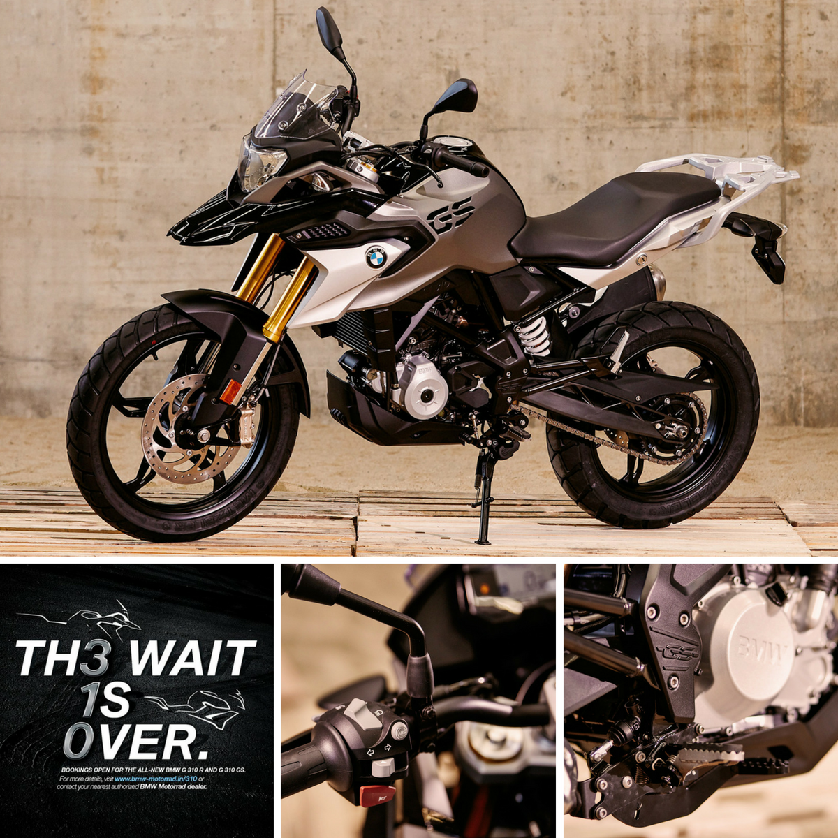 Bmw G 310 R G 310 Gs Pre Bookings To Open In India Priced At Rs 50000 Bmw Cool Bikes Moto Bike