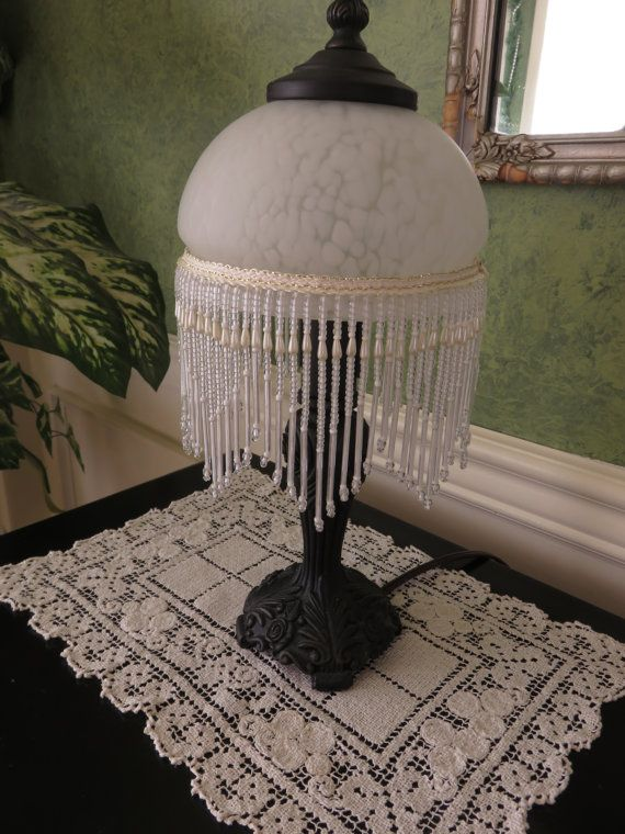 Boudoir Lamp Small Table Lamp Vanity Lamp by MauraLynnsCollection