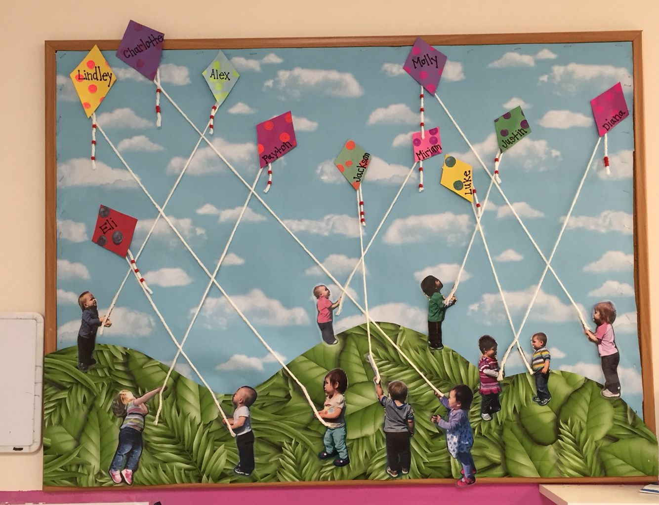 Fly A Kite Bulletin Board Wind/Weather | My Bulletin ... |Kite Bulletin Board Ideas