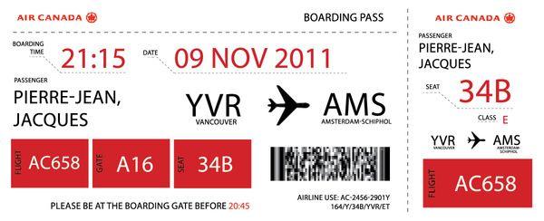 Pin De Hye Ryeong Shin Em Boarding Pass Design Bilhetes De Aviao